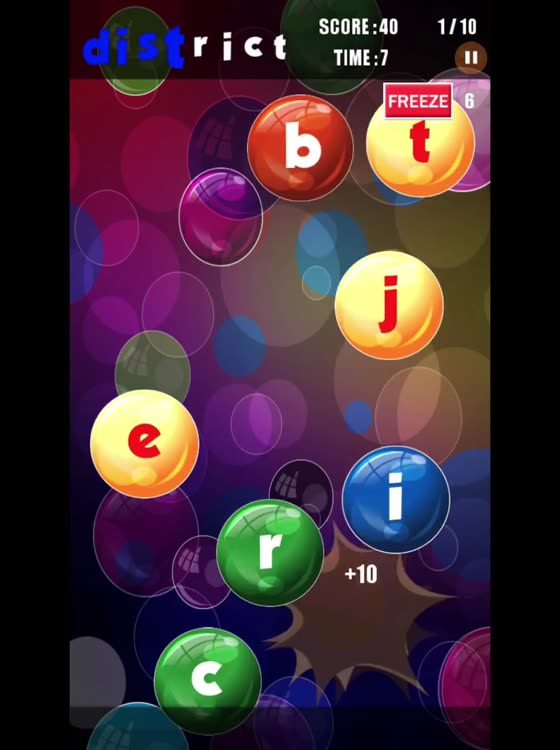 Bubble Strikes Learn 45678 Letter Words At Faster Rate By