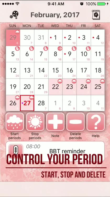 Ovulation Calculator Calendar by Pavel Zryumov