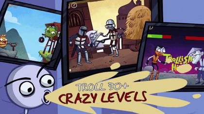 Troll Face Quest Video Games by SPIL GAMES