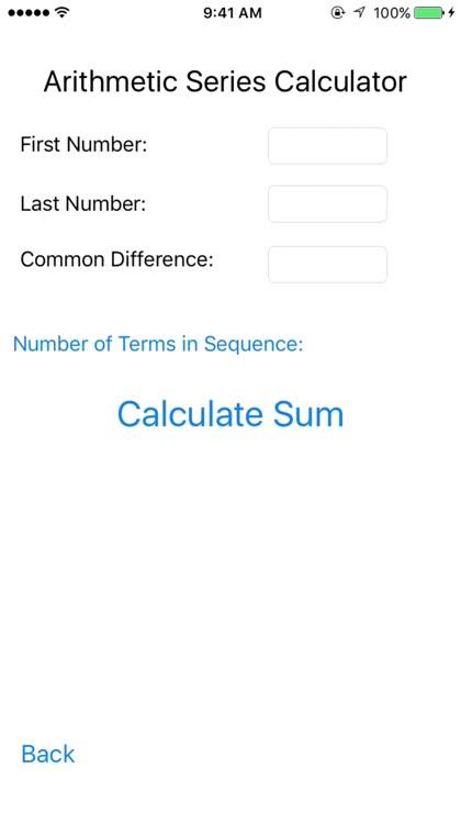 Series Calculator