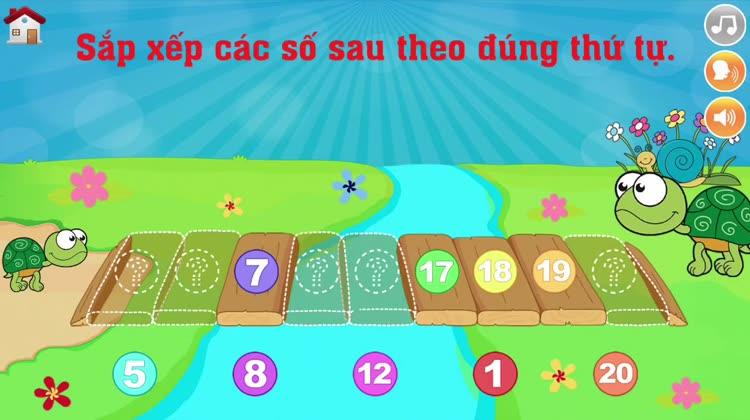 123 Kids là một trò chơi hoàn toàn miễn phí cho bé làm quen với các số từ 0  đến 20