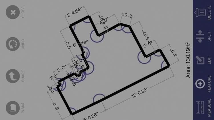 Floor Plan App by Laan Labs