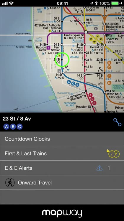 New York Subway Mta Map By Mapway Limited