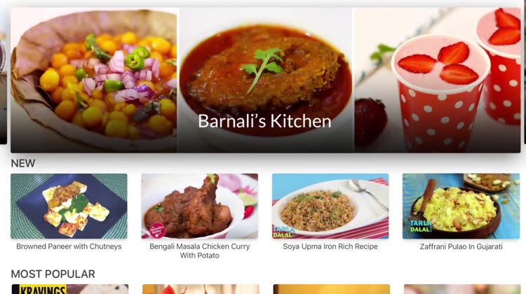 Cooking recipe and cooking classes apps on apple tv indian recipes by ifood forumfinder Images