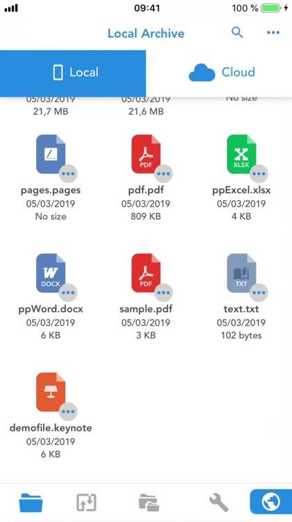 Total files