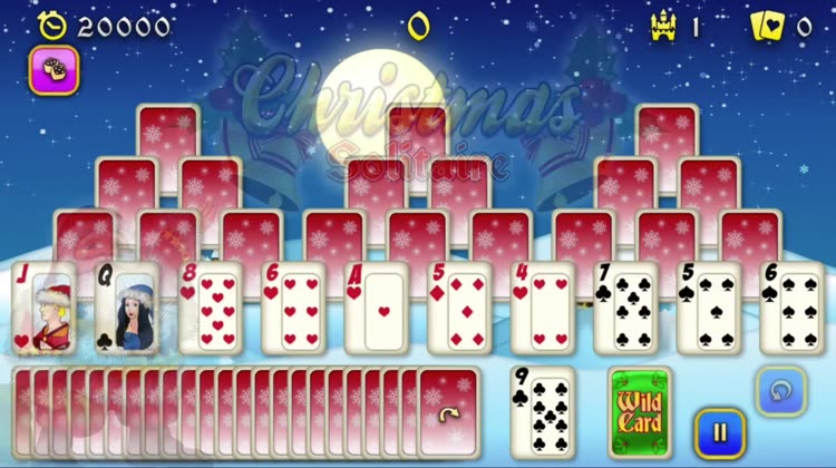 Christmas Solitaire Freecell.Christmas Solitaire Tri Peaks