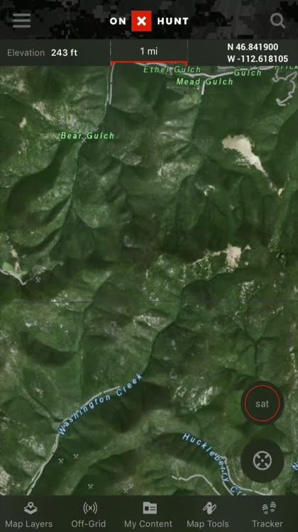 OnX Hunt GPS Hunting App By OnXmaps Inc - Onx map app
