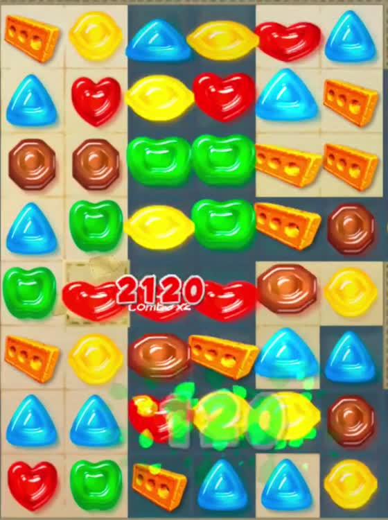 Gummy drop a match 3 game by big fish games inc for Gummy drop big fish games