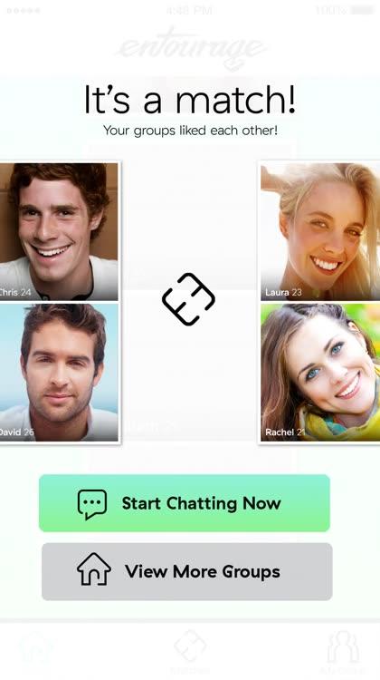 Entourage group dating