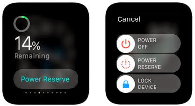 Apple Watch reserve mode