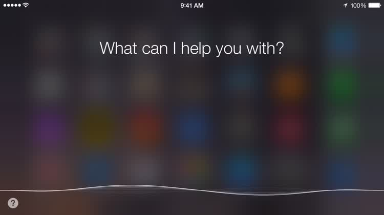 Siri location-based reminder