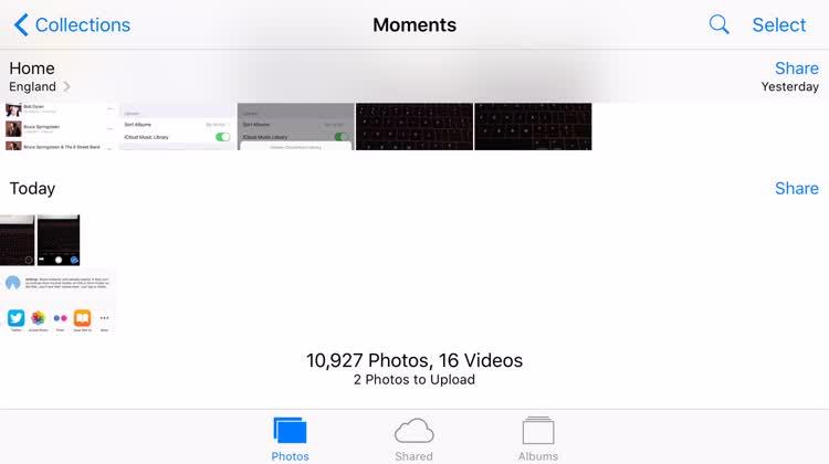 iCloud Photo Sharing (2)