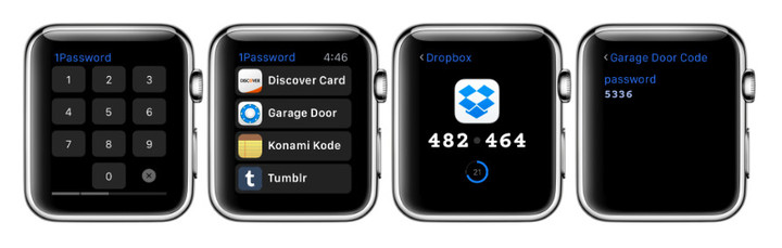 1Password for Apple Watch