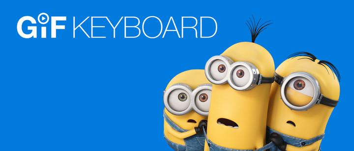 GIF Keyboard Minions