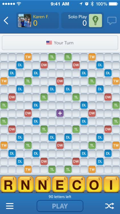 Words With Friends Solo Play