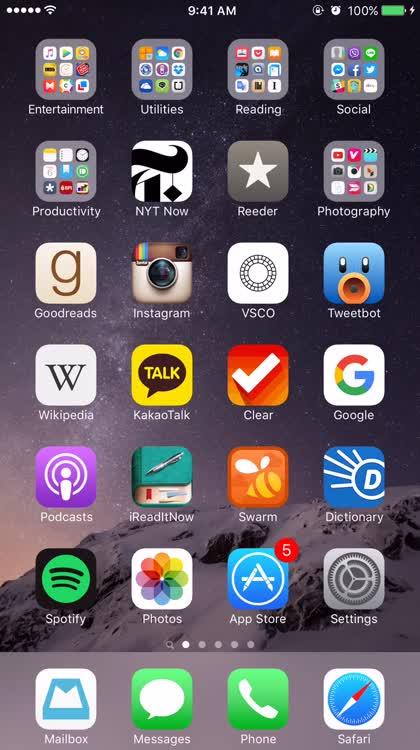Block contact Phone app