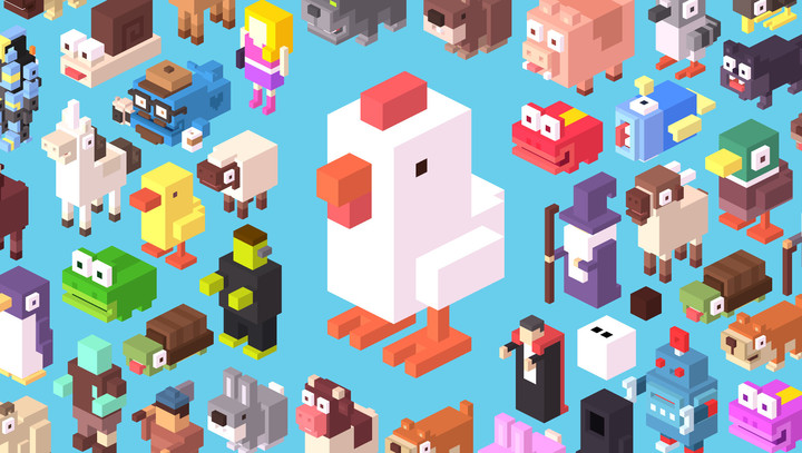 Crossy Road collage