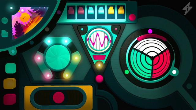Moonbeeps: Gizmo is a virtual dashboard for futuristic fantasies