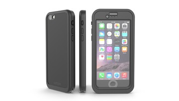 This slim iPhone case offers waterproof impact protection