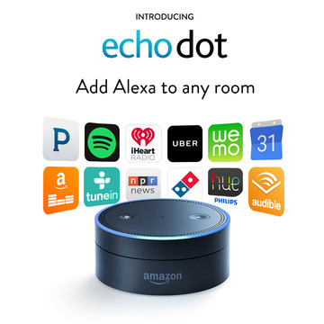 Amazon's voice-controllable speaker lineup grows with the new Echo Dot and Tap