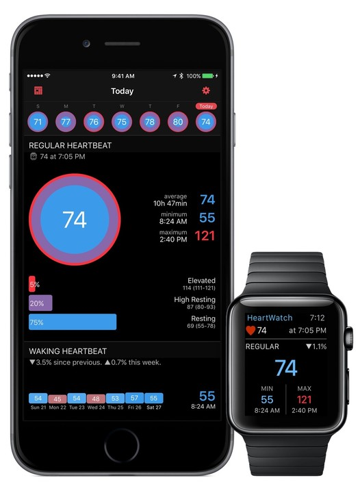 HeartWatch 2 is a great way to help make sense of the data captured by an Apple Watch.