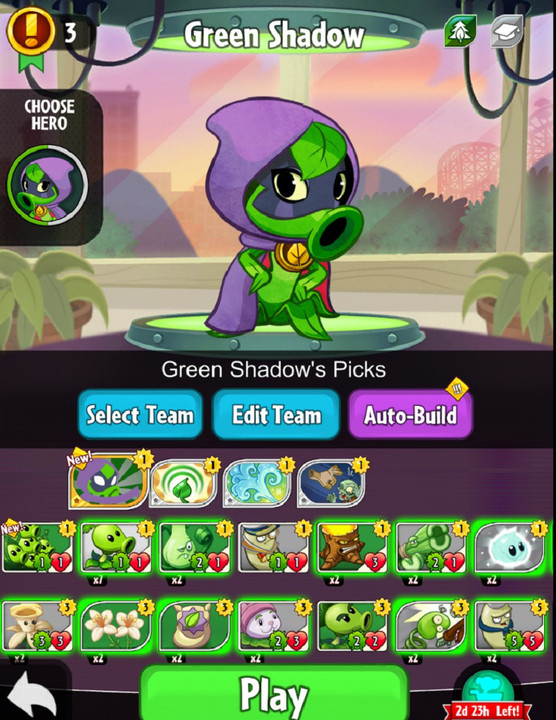 The Green Shadow hero.