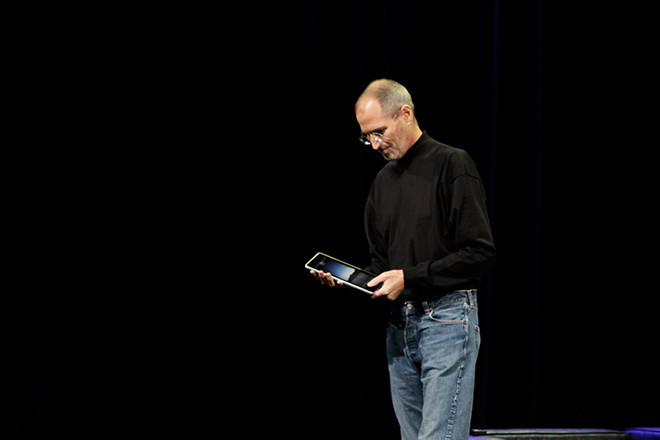 The first iPad, 2010