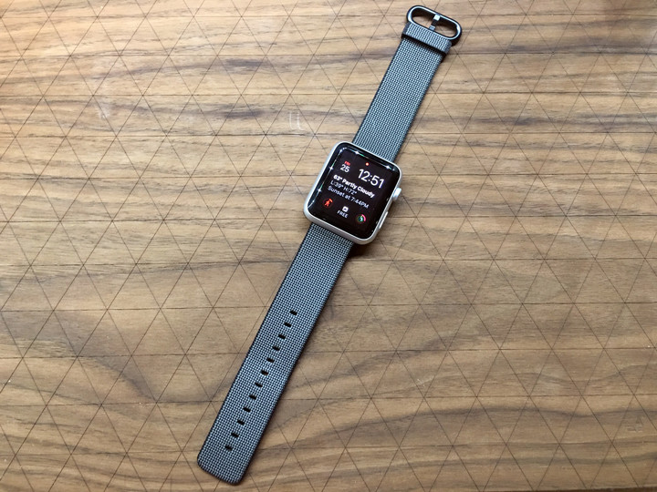 The strap looks great on my Apple Watch Sport.
