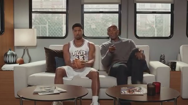 Apple's latest Apple TV ad stars Michael B. Jordan and Kobe Bryant