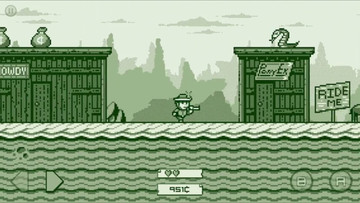 Saddle up, 2-bit Cowboy Rides Again Is Galloping Your Way
