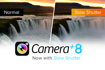 A Camera+ Update Arrives With a Slow Shutter Feature and More
