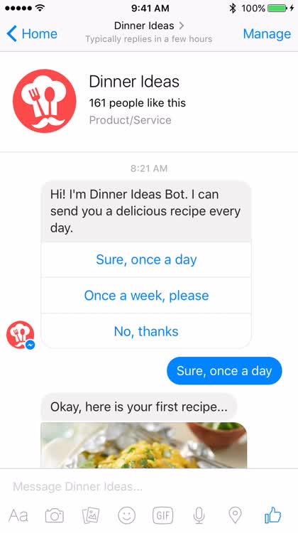 DinnerIdeasBot1