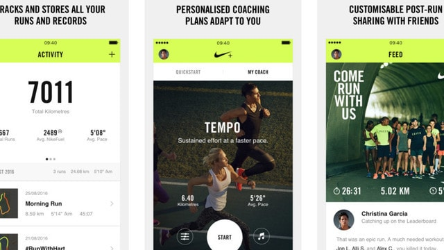 Nike+ Run Club Gets a Huge Overhaul, Highlights Run-Tracking From Apple Watch