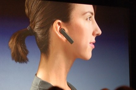 iPhone bluetooth headset introduced by Steve Jobs in 2007