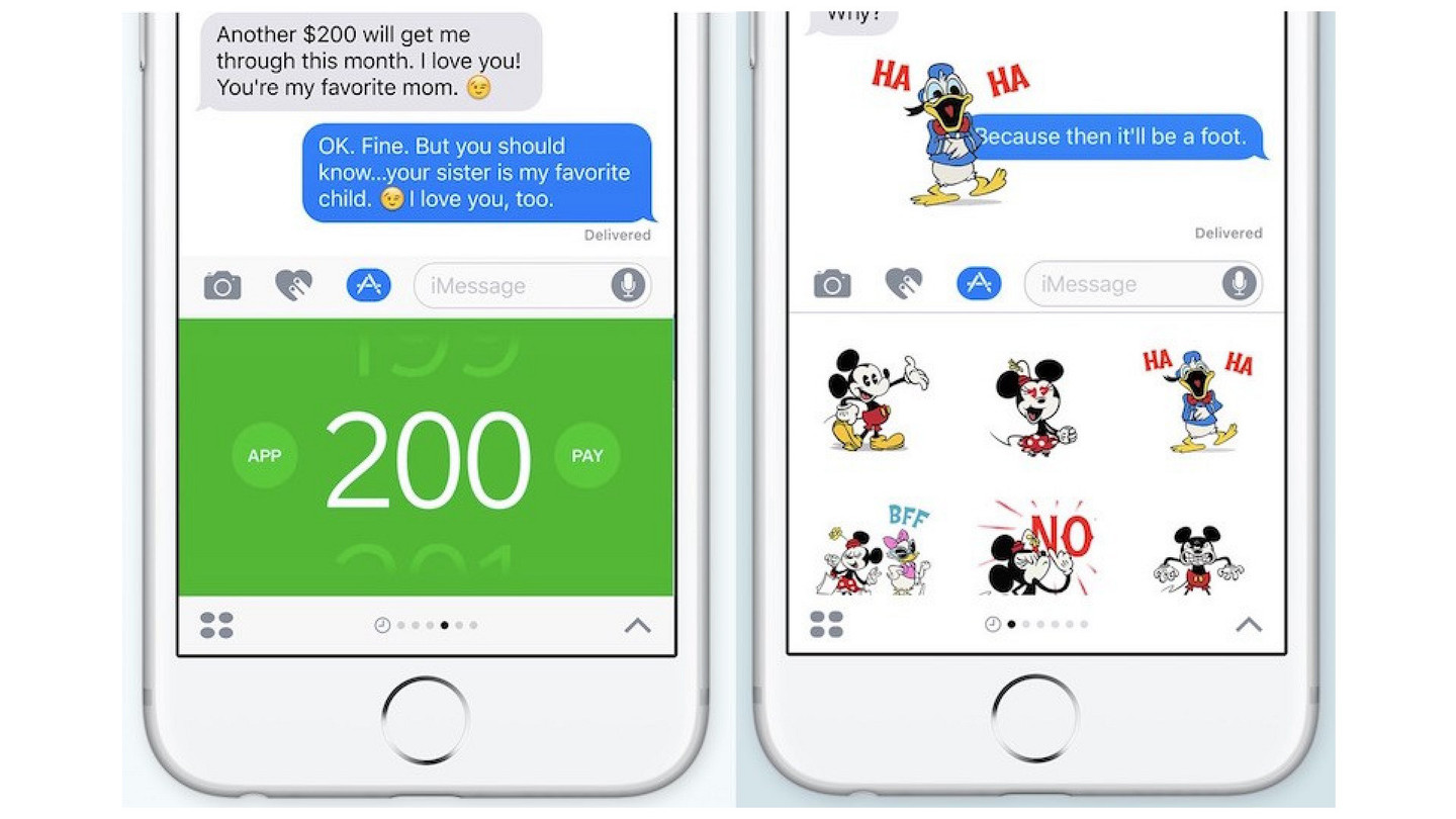 iOS 10 iMessage Stickers