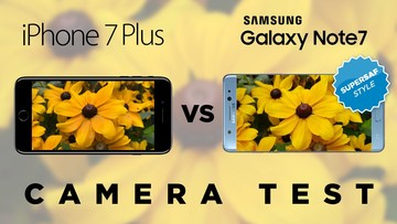 Camera Wars: iPhone 7 Plus Compared to Galaxy Note 7 (Video)