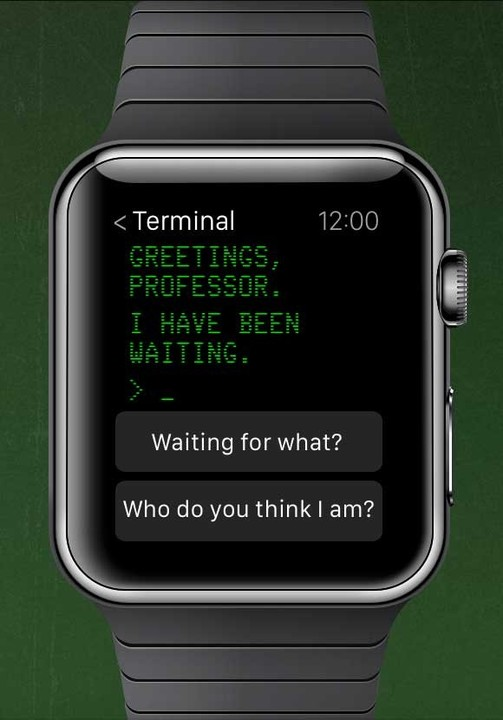 The game can even be played on the Apple Watch.