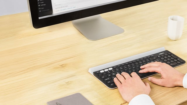 Logitech K780 Keyboard Works with Three Devices at Once