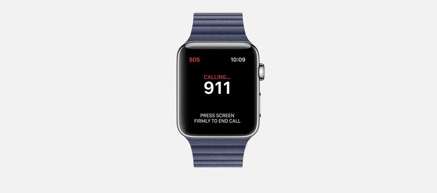 Apple Watch SOS Emergency