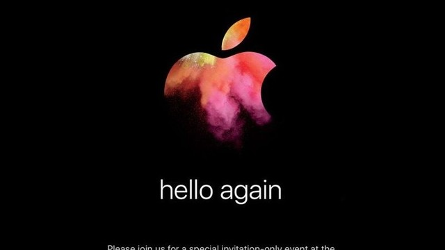 Hello Again: Apple Will Announce New Macs on October 27