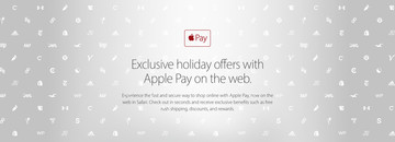 Apple Unveils Special Holiday Promotions for Using Apple Pay on the Web