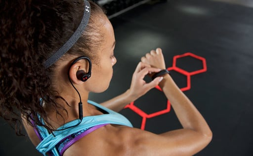 Run to the New UA Sport Wireless Heart Rate Headphones by JBL