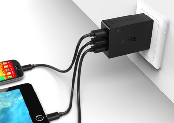 This Aukey 3-Port USB Wall Charger is Just $6