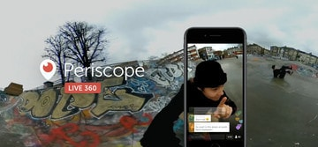 All Periscope Users on iOS Can Now Broadcast Live 360-Degree Videos