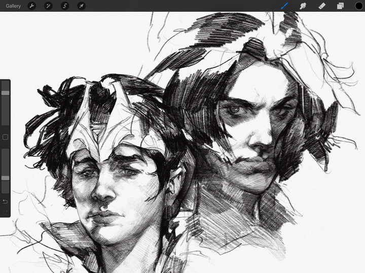 Procreate for iPad Rapid Undo
