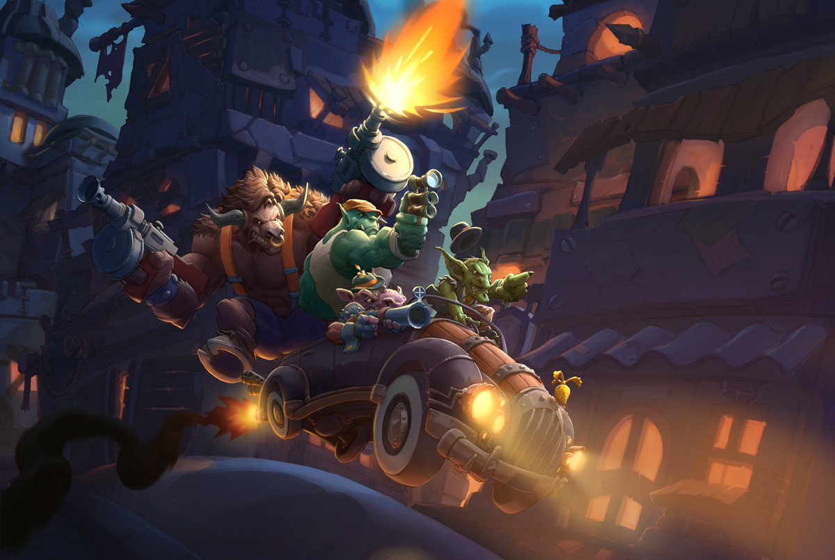 Hearthstone Gets New Cards And Mechanics With Mean Streets Of