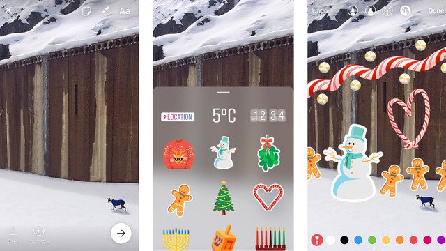 Get Creative With New Holiday Fun for Instagram Stories