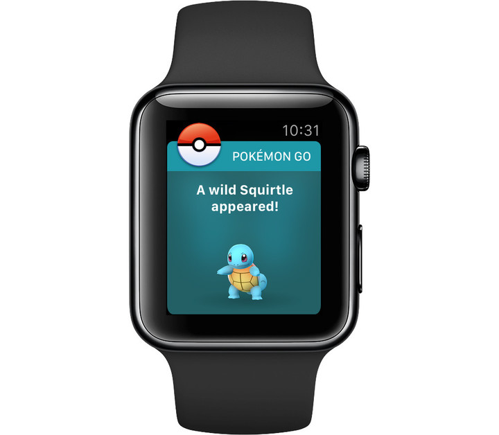 With Pokémon Go for Apple Watch, you can accomplish a number of different tasks including seeing notifications about nearby Pokémon.