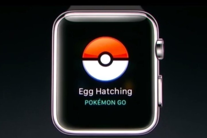 On the Apple Watch version of the game, Niantic promised that players could do things like monitor egg hatchings.