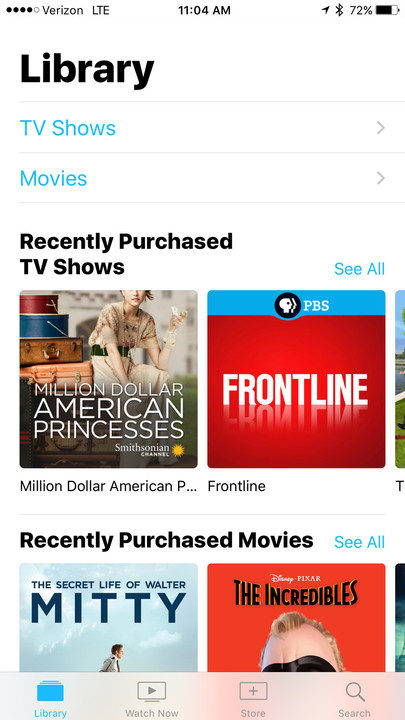 The cross platform TV app is a major new feature of iOS 10.2